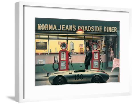 Destiny Highway-Chris Consani-Framed Art Print