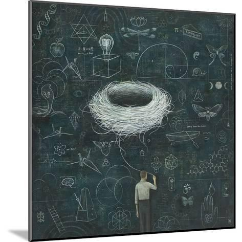 Drafting, Drifting ConsciousNest-Duy Huynh-Mounted Art Print