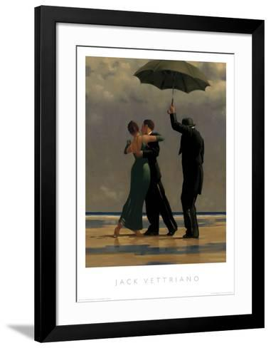 Dancer in Emerald-Jack Vettriano-Framed Art Print