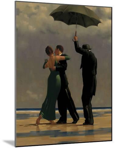 Dancer in Emerald-Jack Vettriano-Mounted Art Print