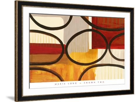 Crown Two-Maria Lobo-Framed Art Print