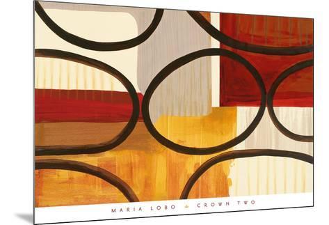 Crown Two-Maria Lobo-Mounted Art Print