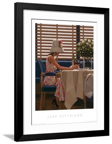 Days of Wine & Roses-Jack Vettriano-Framed Art Print