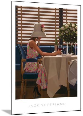 Days of Wine & Roses-Jack Vettriano-Mounted Art Print