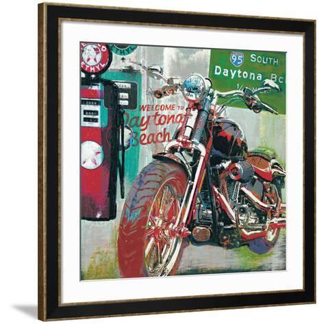 Daytona Beach-Ray Foster-Framed Art Print