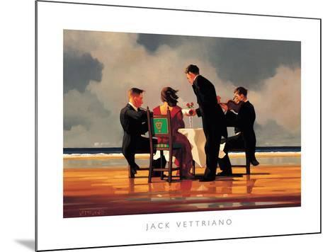 Elegy for a Dead Admiral-Jack Vettriano-Mounted Art Print