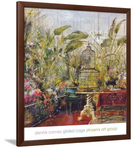 Gilded Cage-Dennis Carney-Framed Art Print