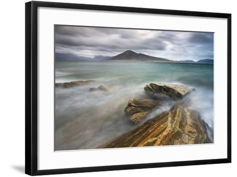 Harris from Taransay, Outer Hebrides-Lee Frost-Framed Art Print