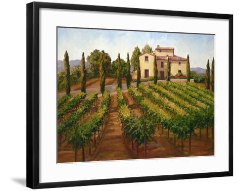 Hilltop Villa-Susan Hoehn-Framed Art Print