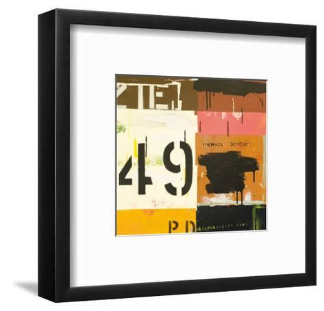 Hit and Miss-Michael Jeffery-Framed Art Print