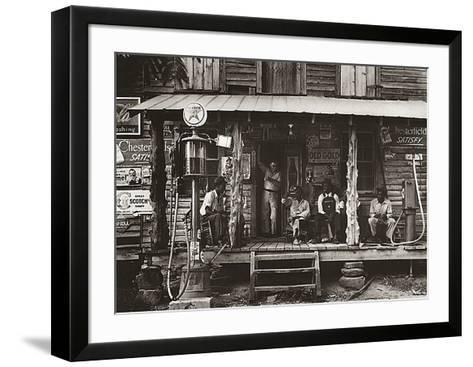Happy Gas Station-Unknown-Framed Art Print