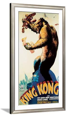 King Kong – Profile-Unknown-Framed Art Print