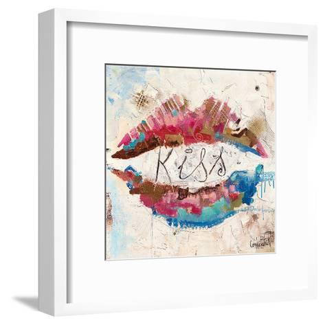 Kiss-Patrick Cornee-Framed Art Print