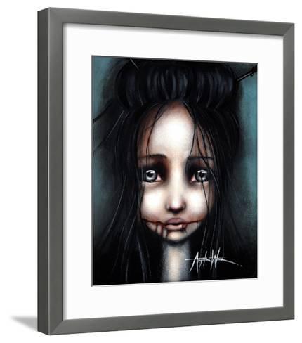 Little Dahlia-Angelina Wrona-Framed Art Print