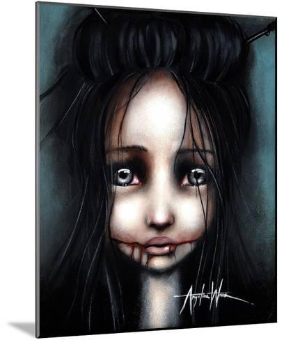 Little Dahlia-Angelina Wrona-Mounted Art Print