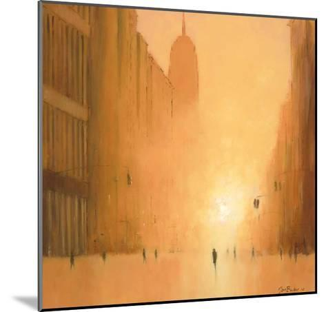 Morning Light - 5th Avenue-Jon Barker-Mounted Art Print