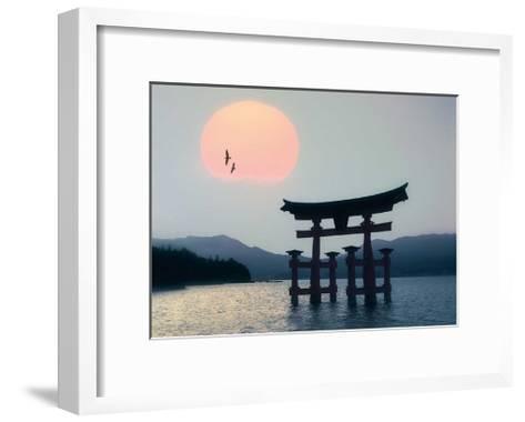 Miyajima, Japan-Edmund N?gele-Framed Art Print
