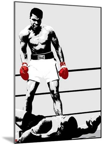 Muhammad Ali (Gloves)-Unknown-Mounted Art Print