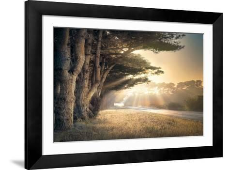 No Place to Fall-William Vanscoy-Framed Art Print