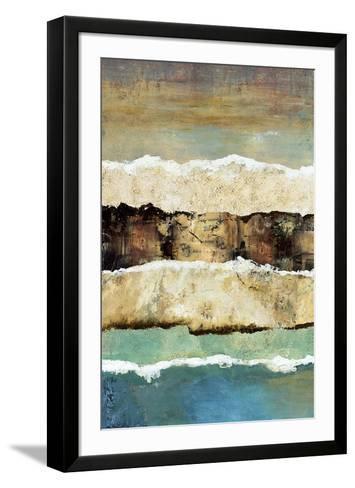 On the Edge I-Norm Olson-Framed Art Print