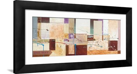 One Way Only-Martin Rogers-Framed Art Print