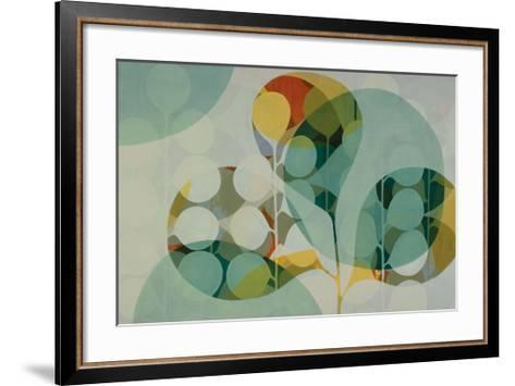 Opaque Layer Study I-Sarah Leslie-Framed Art Print