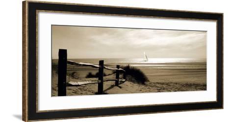Open Water-Malcolm Sanders-Framed Art Print