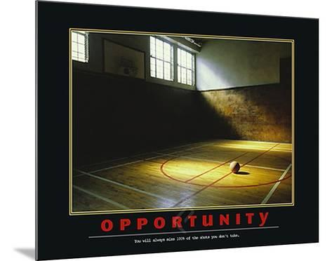 Opportunity-Unknown-Mounted Art Print