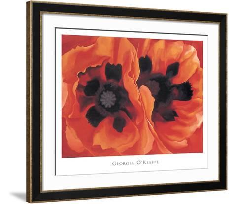 Oriental Poppies, 1928-Georgia O?keeffe-Framed Art Print