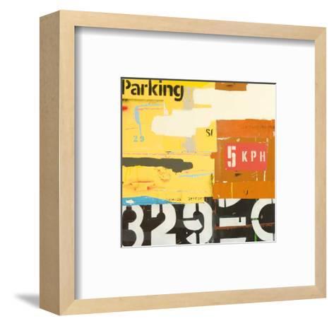 Over and Above-Michael Jeffery-Framed Art Print