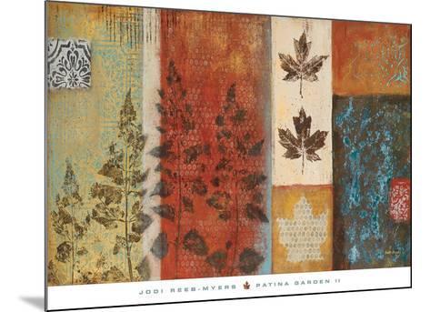 Patina Garden II-Jodi Reeb-myers-Mounted Art Print