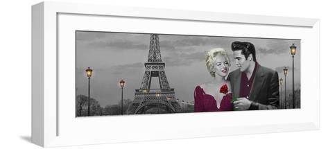 Paris Sunset-Chris Consani-Framed Art Print