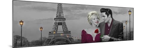 Paris Sunset-Chris Consani-Mounted Art Print