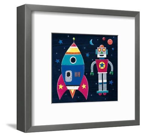 Rocket-Simon Hart-Framed Art Print