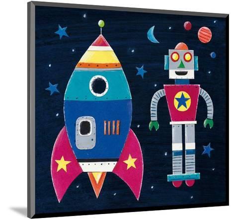 Rocket-Simon Hart-Mounted Art Print