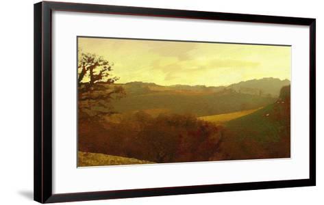 Rolling Hills-Noah Bay-Framed Art Print