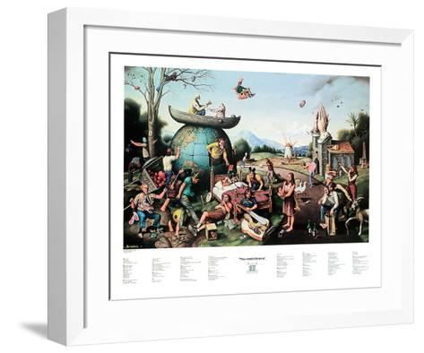 Proverbidioms II-T^ E^ Breitenbach-Framed Art Print