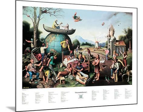 Proverbidioms II-T^ E^ Breitenbach-Mounted Art Print