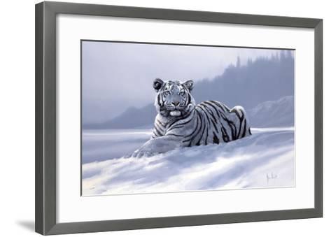 Siberian Tiger-Spencer Hodge-Framed Art Print