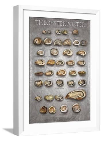The Oyster Poster-Marinelli-Framed Art Print