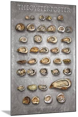 The Oyster Poster-Marinelli-Mounted Art Print