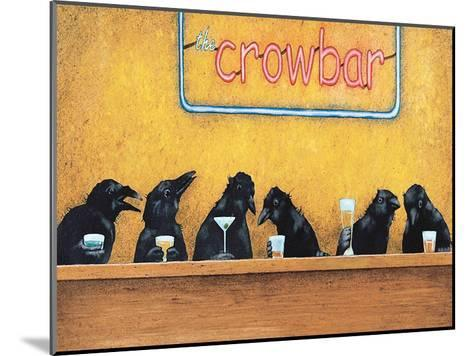 The Crowbar-Will Bullas-Mounted Art Print