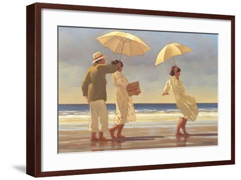 The Picnic Party II-Jack Vettriano-Framed Art Print
