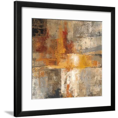 Silver and Amber Crop-Silvia Vassileva-Framed Art Print