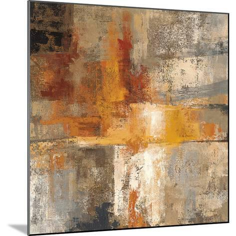 Silver and Amber Crop-Silvia Vassileva-Mounted Art Print