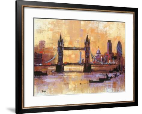 Tower Bridge, London-Colin Ruffell-Framed Art Print