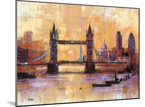 Tower Bridge, London-Colin Ruffell-Mounted Art Print