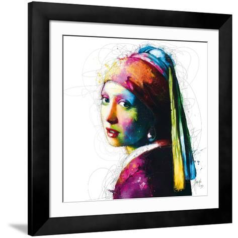 Vermeer Pop-Patrice Murciano-Framed Art Print