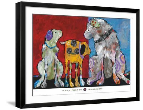 Training Day-Jenny Foster-Framed Art Print
