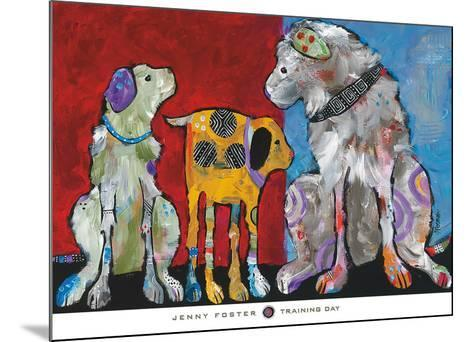 Training Day-Jenny Foster-Mounted Art Print